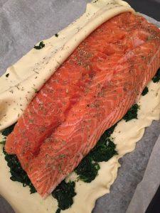 Salmone in crosta di sfoglia_1